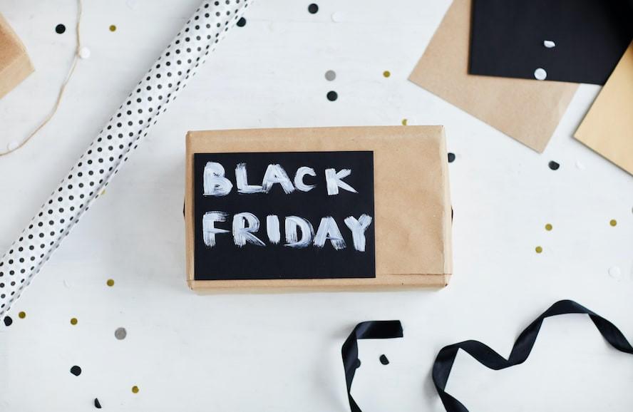 Black friday written on board - Cloud of Goods