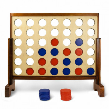 Giant Connect 4 in a Row rentals in Seattle - Cloud of Goods