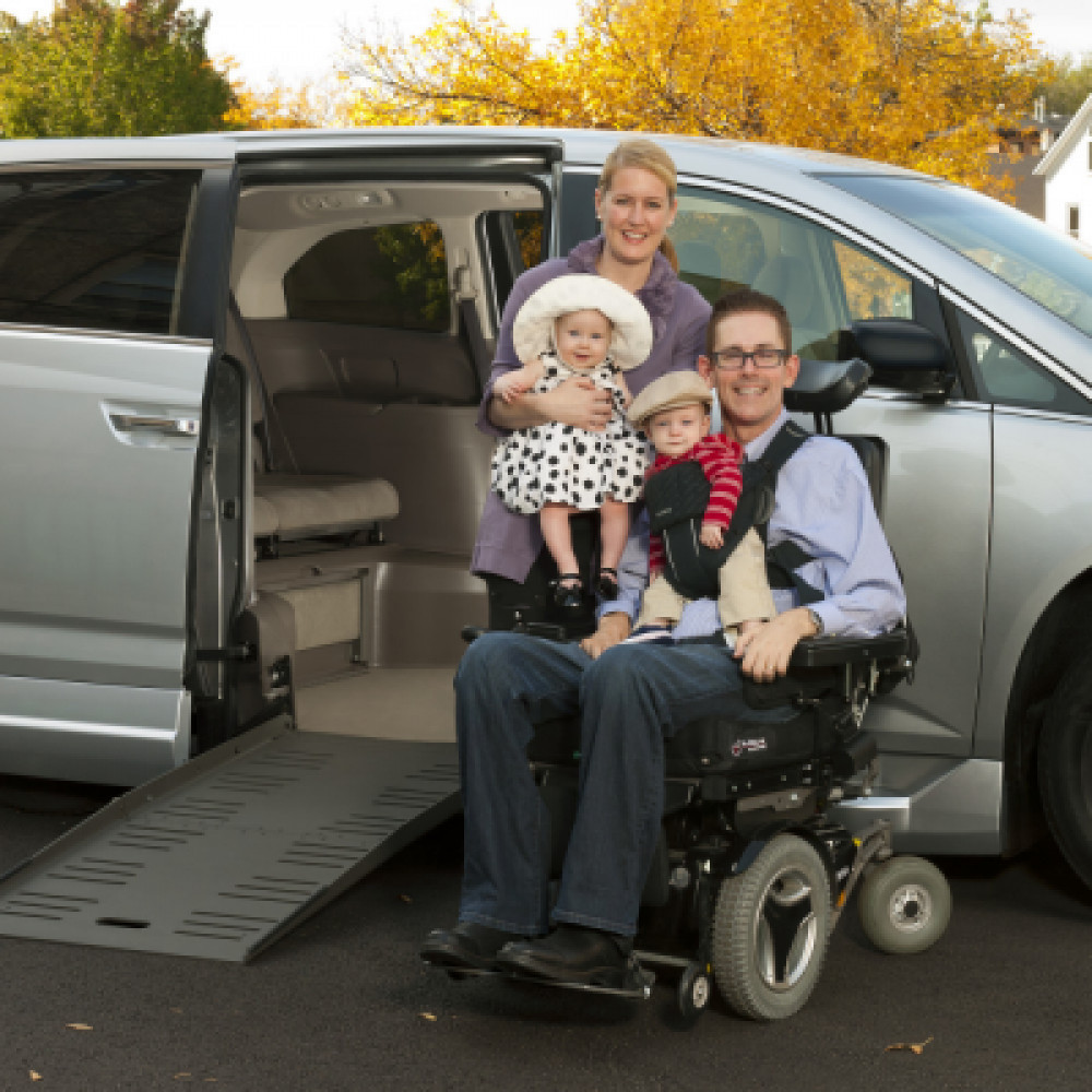Wheelchair Accessible Van rentals in Orlando - Cloud of Goods