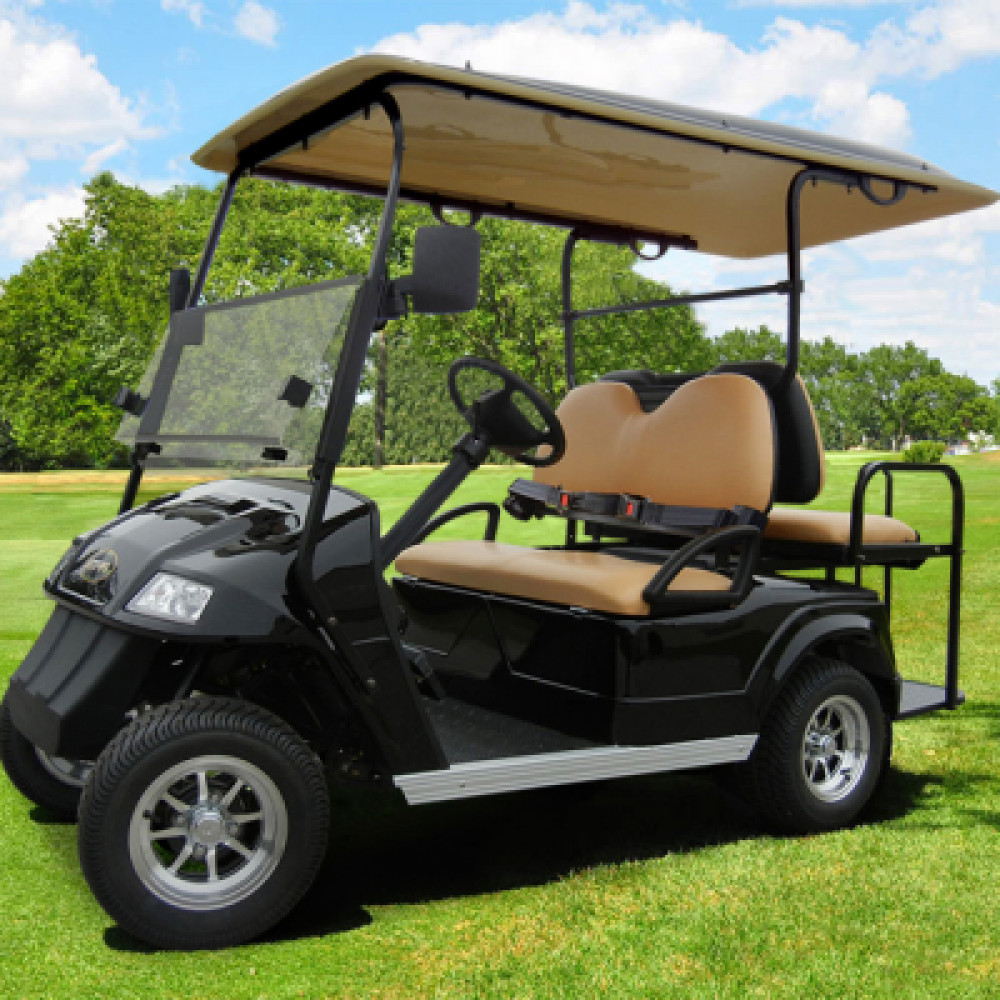 4 Seater golf cart - electric rentals in San Francisco - Cloud of Goods