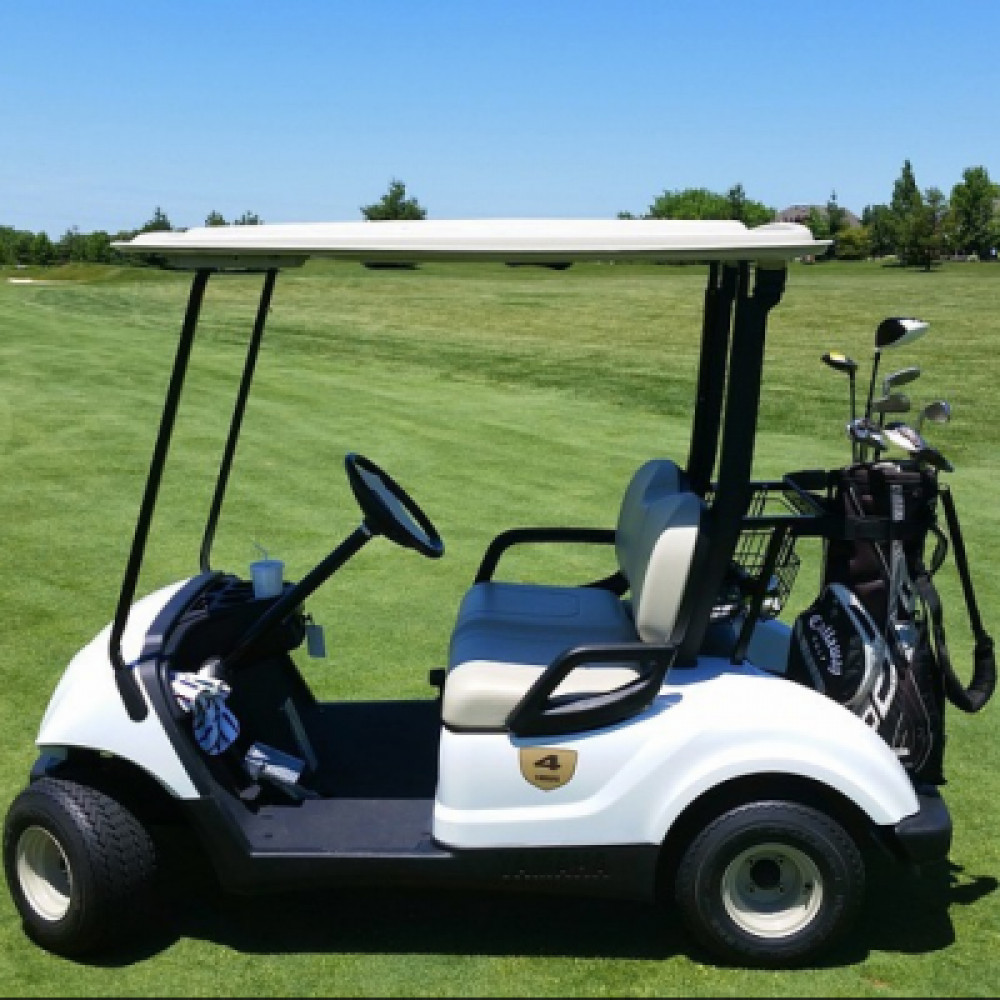 2 Seater golf cart - electric rentals in Orlando - Cloud of Goods
