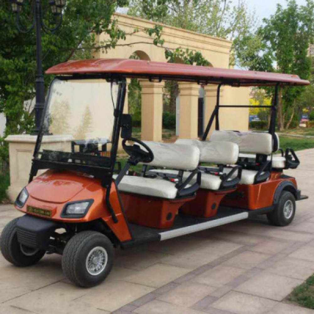8 Seater golf cart - electric rentals in New York City - Cloud of Goods