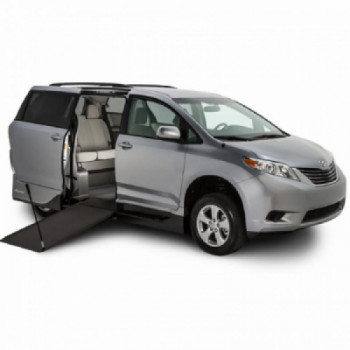 Side entry wheelchair minivan rental Denver