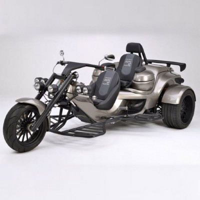 2 Seater trike rental in San Francisco - Cloud of Goods