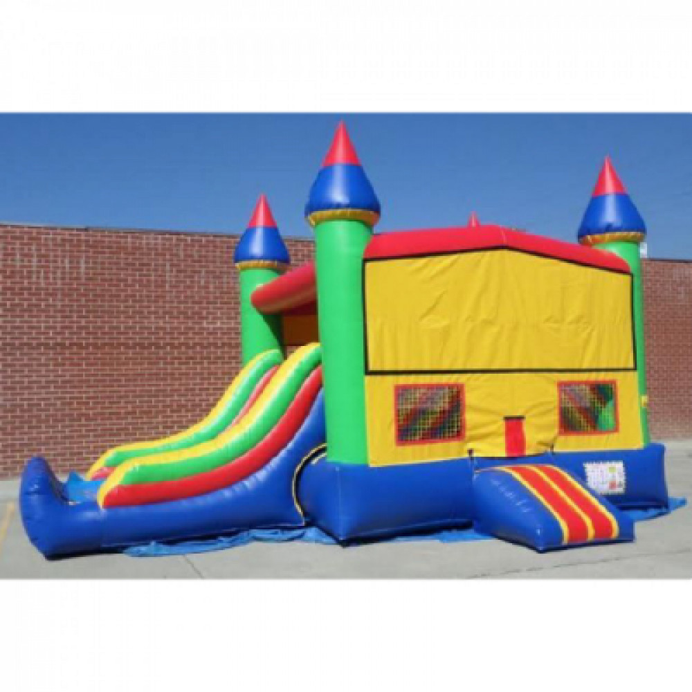 Bounce house with a slide rentals in Las Vegas - Cloud of Goods