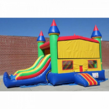 Bounce house with a slide rental