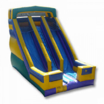 Sliding bounce house rental