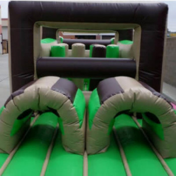 Obstacle course bounce house rental Universal Orlando Resort
