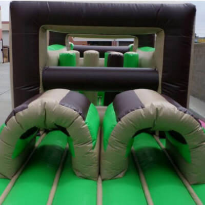 Obstacle course bounce house rental in San Antonio - Cloud of Goods