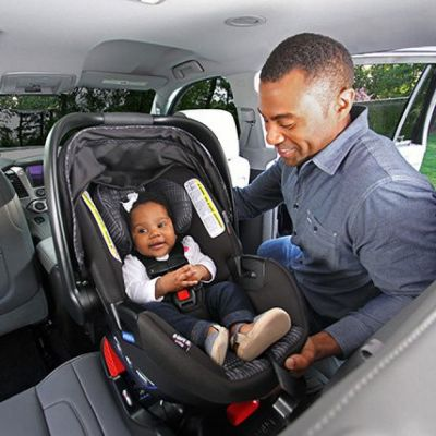 Rear-facing infant car seat rental in New York City - Cloud of Goods