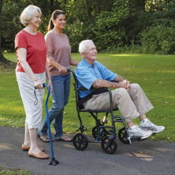 Lightweight Transport Wheelchair  rental San Antonio