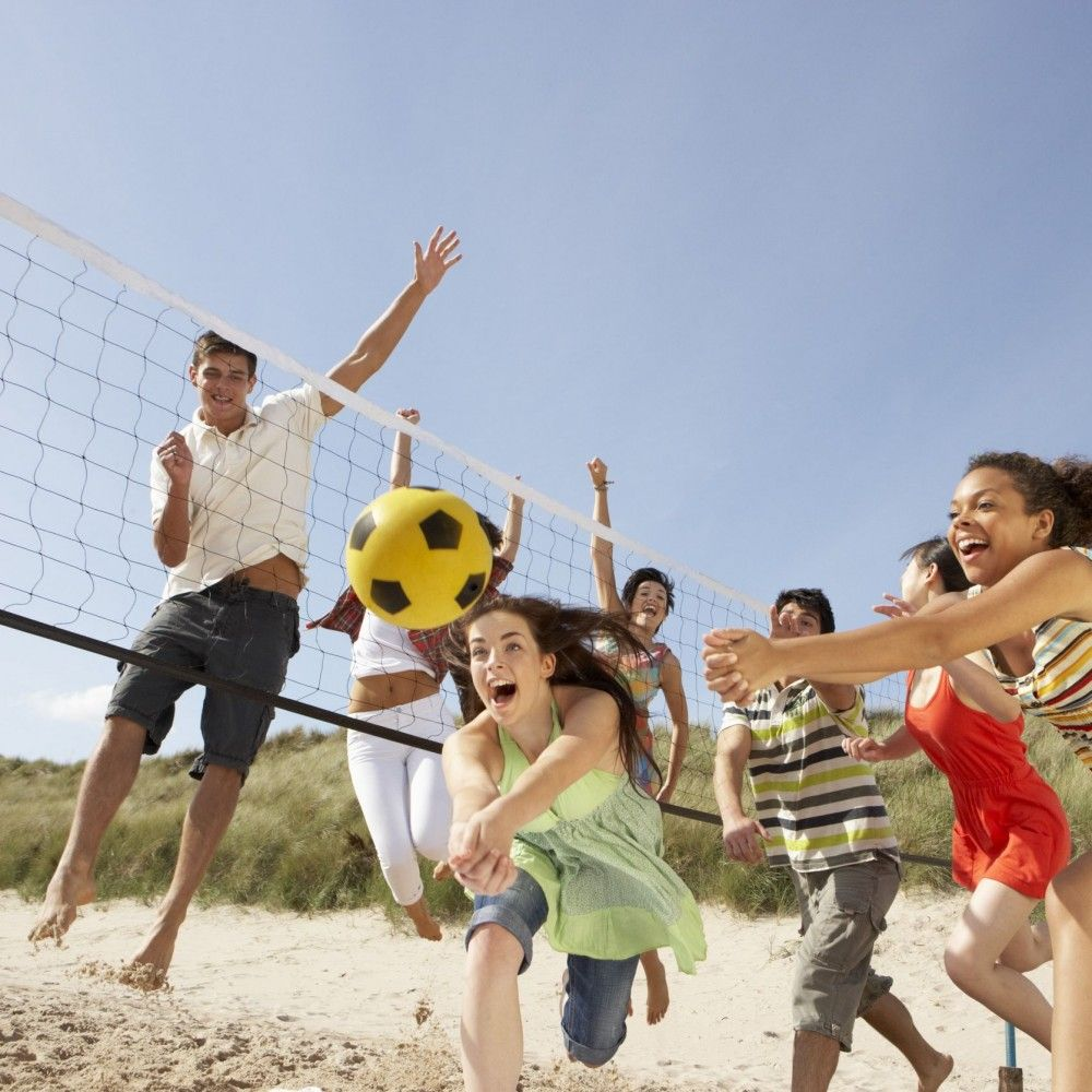 Volleyball & badminton set rentals in Pigeon Forge - Cloud of Goods