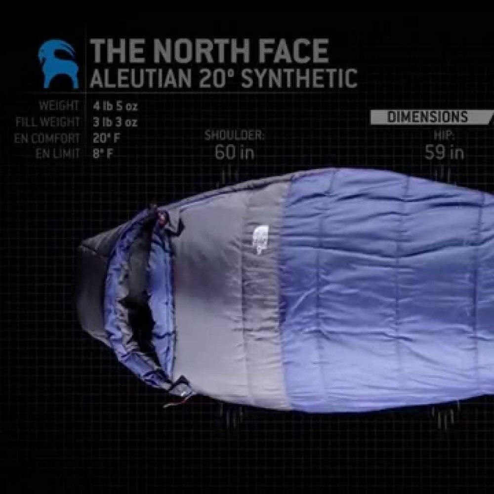 3 season sleeping bag 20f/-7c rentals - Cloud of Goods