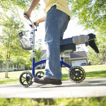 Knee Scooter with Basket rental Houston
