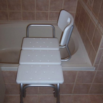 Shower Stool Transfer Bench rentals in Houston - Cloud of Goods