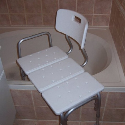 Shower Stool Transfer Bench rental in Miami - Cloud of Goods