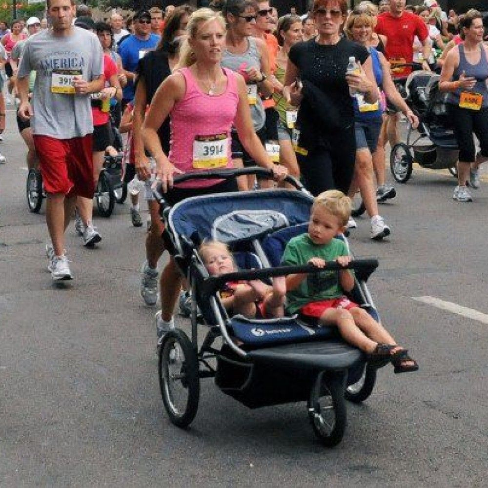 Double Jogger Stroller rentals in Los Angeles - Cloud of Goods