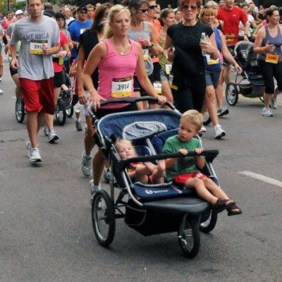 Double Jogger Stroller rental in Boston  - Cloud of Goods